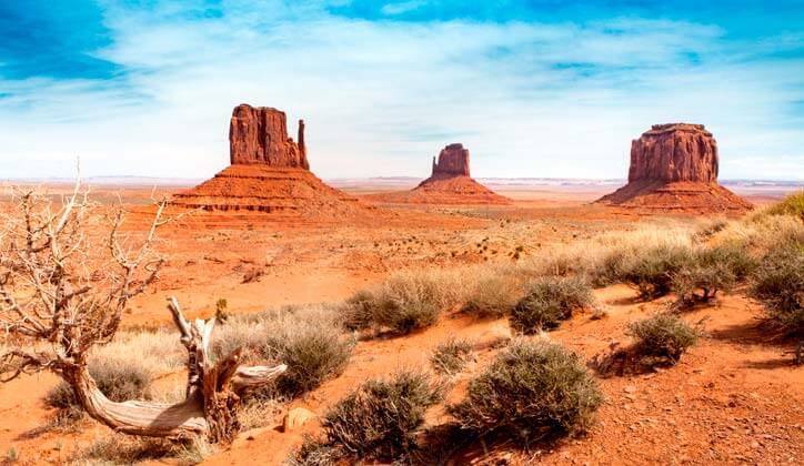 Amerika vakantie monument Valley